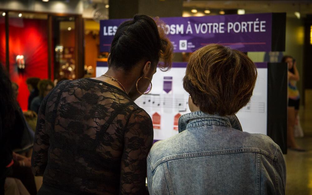 STAND PROMOTIONNEL POUR LES AMIS DE L'OSM.